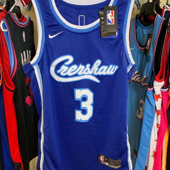 Anthony Davis Crenshaw LA Lakers 2020 NBA Jersey